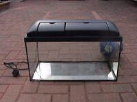 55L fish tank aquarium with light kot wembley