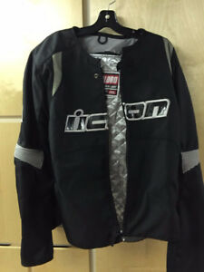 Men's Icon Motorcycle Jacket 2XL