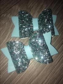 Handmade pick and mix hairbows