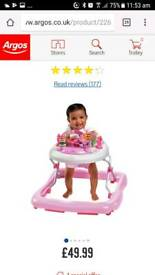 Baby walker good condition used