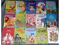 Collection of 15 Hard Back Disney Books, with Beautiful Illustrations.