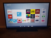 "48"" Smart TV LED Toshiba FullHD with HD Freeview"