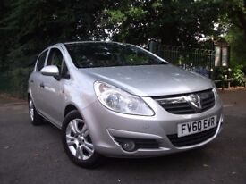 Vauxhall Corsa 1.0i 12V ecoFLEX Energy 5dr 12 MONTHS WARRANTY FREE 2010 (60 reg), Hatchback