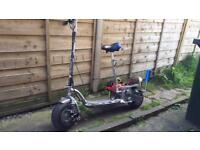 Go-Ped Petrol Scooter MODIFIED SOLD