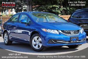2013 Honda Civic LX BLUETOOTH HEATED SEATS