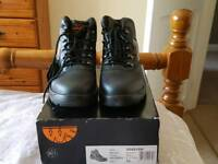 Work boots steel toe