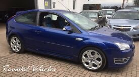 IMMACULATE 2006 Ford Focus ST-2 3 door in Ford Racing Blue new T/Belt 12 mths mot Original Car !!