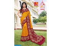 PRIYA PARIDHI RIVAAJ WHOLESALE PRINTED SILK SAREE