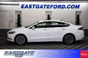 2017 Ford Fusion SE AWD Leather Roof Navigation