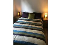 Excellent condition - king size bedspread and pillow cases
