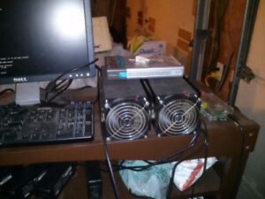 Gridseed 80 Chip Blade ASIC Miner ~5200KHs on Scrypt