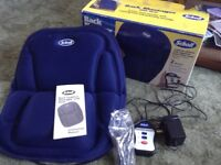 Back cushion massager