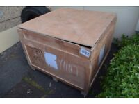 FREE CARGO / SHIPPING / STORAGE WOODEN CONTAINERS - VERY BIG