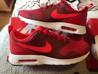 Nike Air Max Tanvas RED 🔥🔥🔥 uk 7.5 NEW