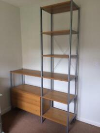 Shelf and Drawer Unit