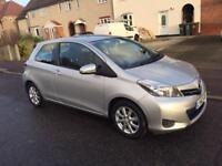 Toyota Yaris 2012, Very Low Mileage, Navigation and Reverse Camera.