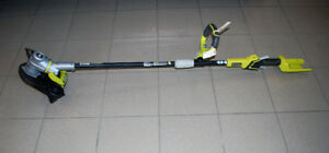 Ryobi Cordless String Trimmer with battery and charger