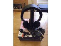 SANYO IR600 stereo infra-red wireless headphones