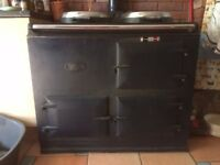 Oil-Fired Aga; converted from solid fuel