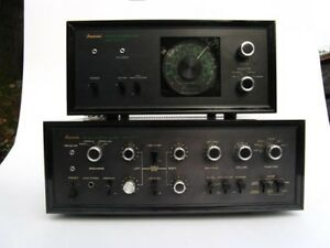 Sansui amplifier and tuner