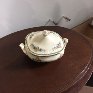 Antique serving dish
