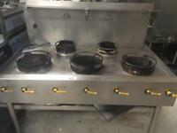 Chinese cooker 5-burner
