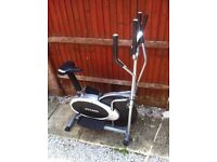DTX Fitness Bike and Stepper