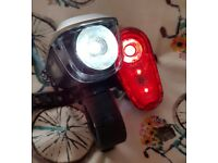 Halfords Bike Hut set of lights