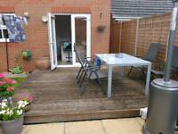 Decking 10ft x 10ft FREE needs to be taken up and collected