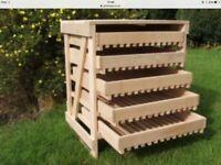 Apple storage tray unit