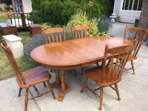 Canadian Made Maple Dining Set