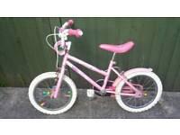 Girl's 16 inch Wheel Bike