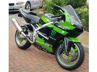 Kawasaki ZX6r Ninja 600cc