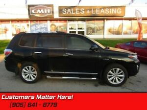 2011 Toyota Highlander Hybrid Limited  AWD, HYBRID, LEATHER, SUN