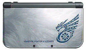 New 3DS XL With ALL GAMES - Monster Hunter Edition