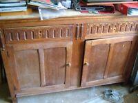 Old oak dresser