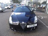 2011 11 ALFA ROMEO GIULIETTA 1.4 LUSSO TB 5d 120 BHP** GUARANTEED FINANCE **** PART EX WELCOME ****