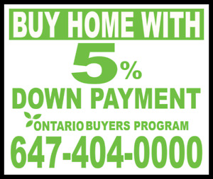 Buy Home With Only 5% Down Payment