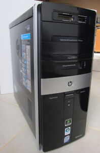 HP MEDIA CENTER + parts or repair, + many extras - $65 (West End