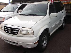 2002 SUZUKI XL-7 $2495.00  7 PLACE