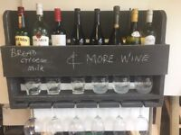 Wine Rack and Notice board