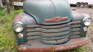 47 to 54 Chevrolet trucks and parts for sale