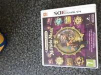 Professor Layton and the miracle mask 3ds/2ds game