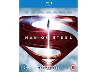 Superman Man of Steel Blu-Ray