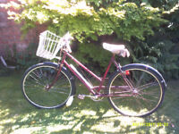 LADIES ROYAL ALBERT 1968 RETRO SHOPPER ONE OF MANY QUALITY BICYCLES FOR SALE
