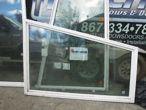 4 brand new Northerm Triple Pane windows triangular