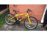 "24"" Yellow Mountain Bike £15 ONO"