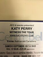 KATY PERRY BELL CENTER RED TICKETS