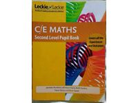 C/E maths second level course book