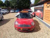 MINI Hatch 1.6 Cooper D 3d 2009 £20 A YEAR ROAD TAX Diesel Manual Only 75K Miles